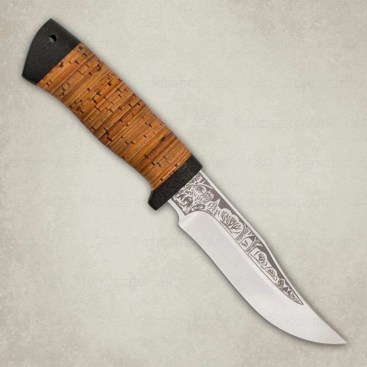 Нож Клычок-1, береста, сталь К-340