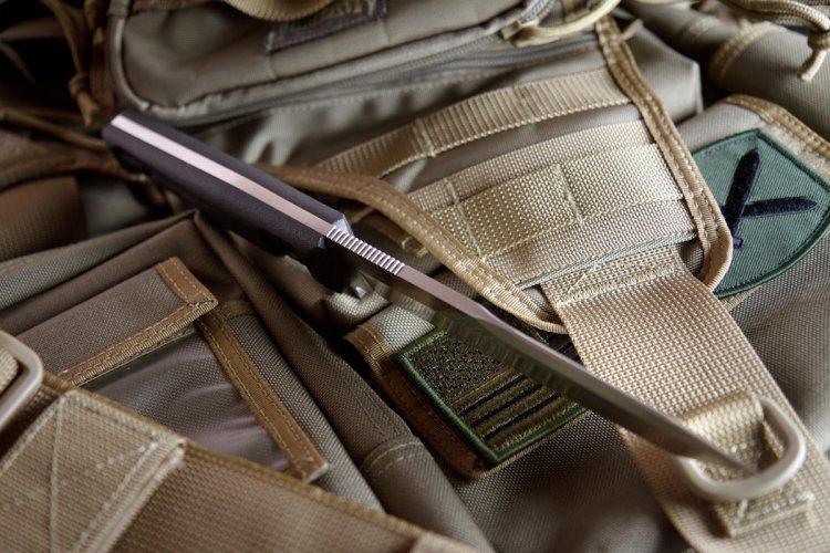 Фото 8 - Тактический нож Aggressor AUS-8 Satin+SW, Kizlyar Supreme