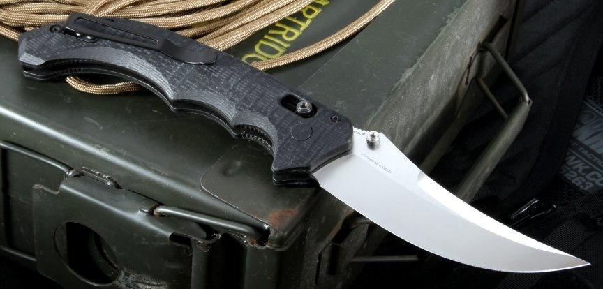 Фото 8 - Нож складной Bedlam 860, сталь 154CM, рукоять G-10 от Benchmade