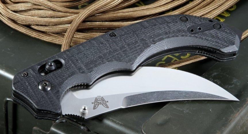 Фото 11 - Нож складной Bedlam 860, сталь 154CM, рукоять G-10 от Benchmade