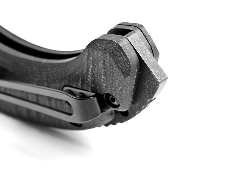 Фото 5 - Нож складной Bedlam 860, сталь 154CM, рукоять G-10 от Benchmade