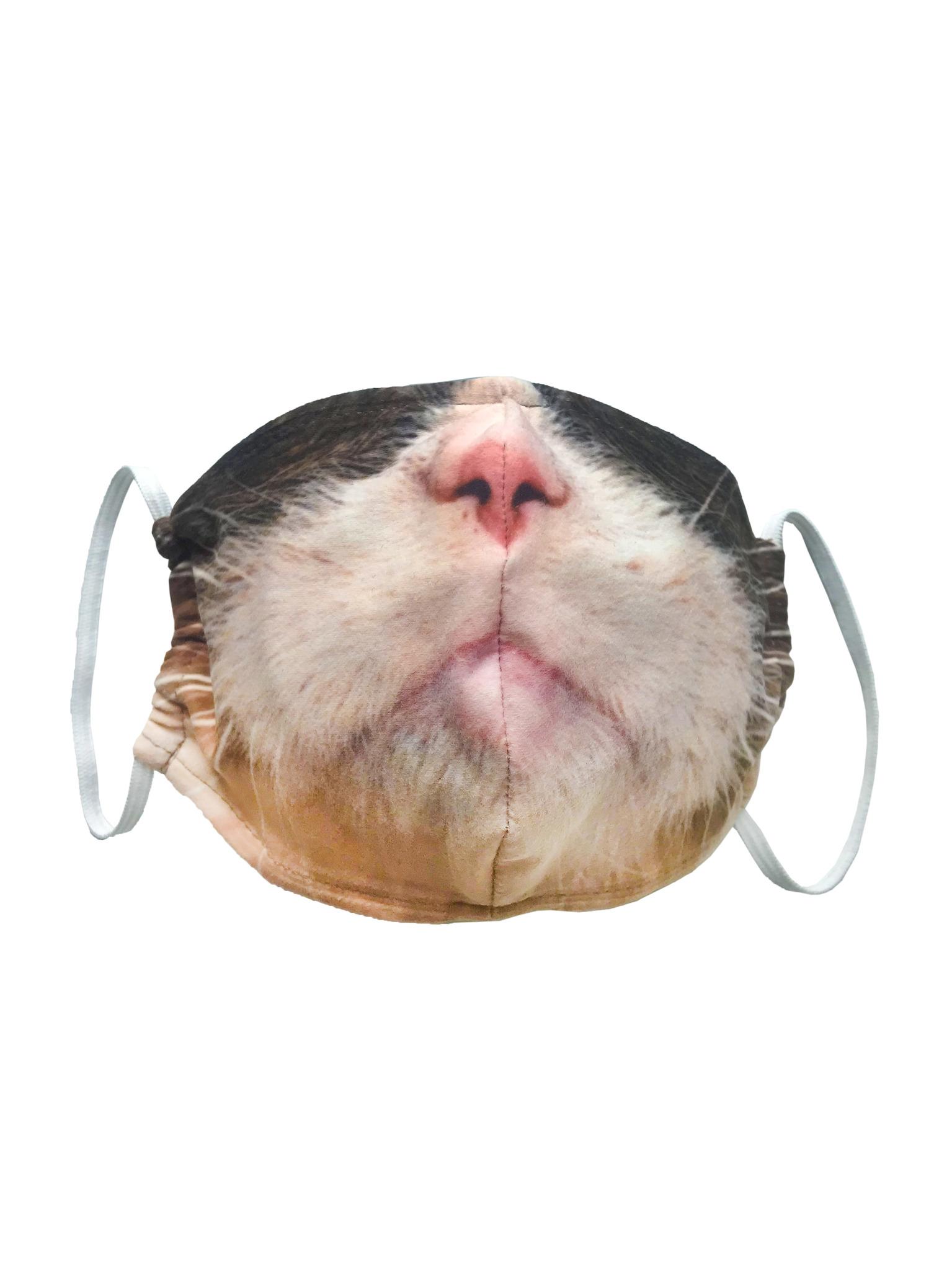 Маска тканевая Серьезный кот от gekoko