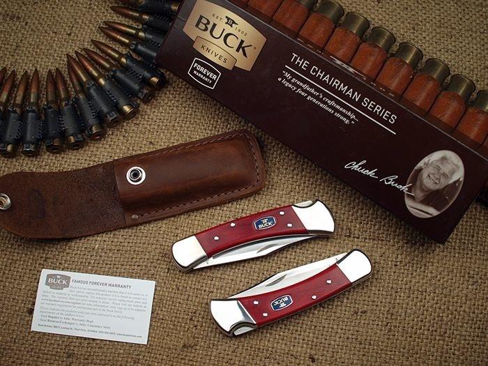 Фото 3 - Складной нож Buck Chairman Series 0110CWSNK, сталь 420НС, рукоять дерево