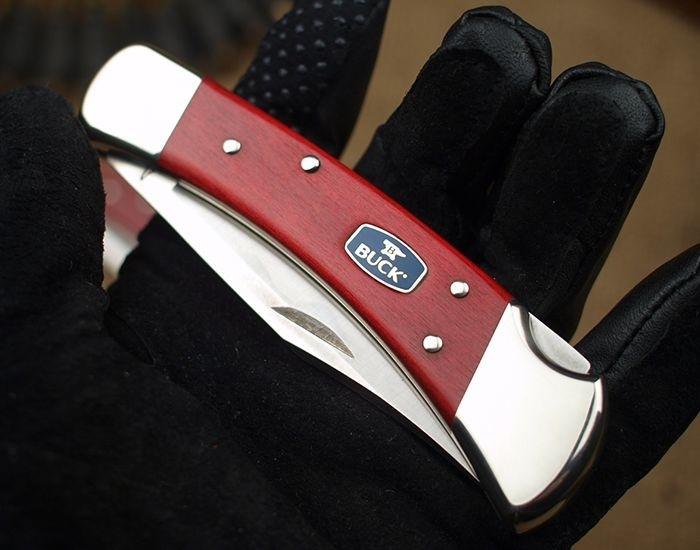 Фото 4 - Складной нож Buck Chairman Series 0110CWSNK, сталь 420НС, рукоять дерево