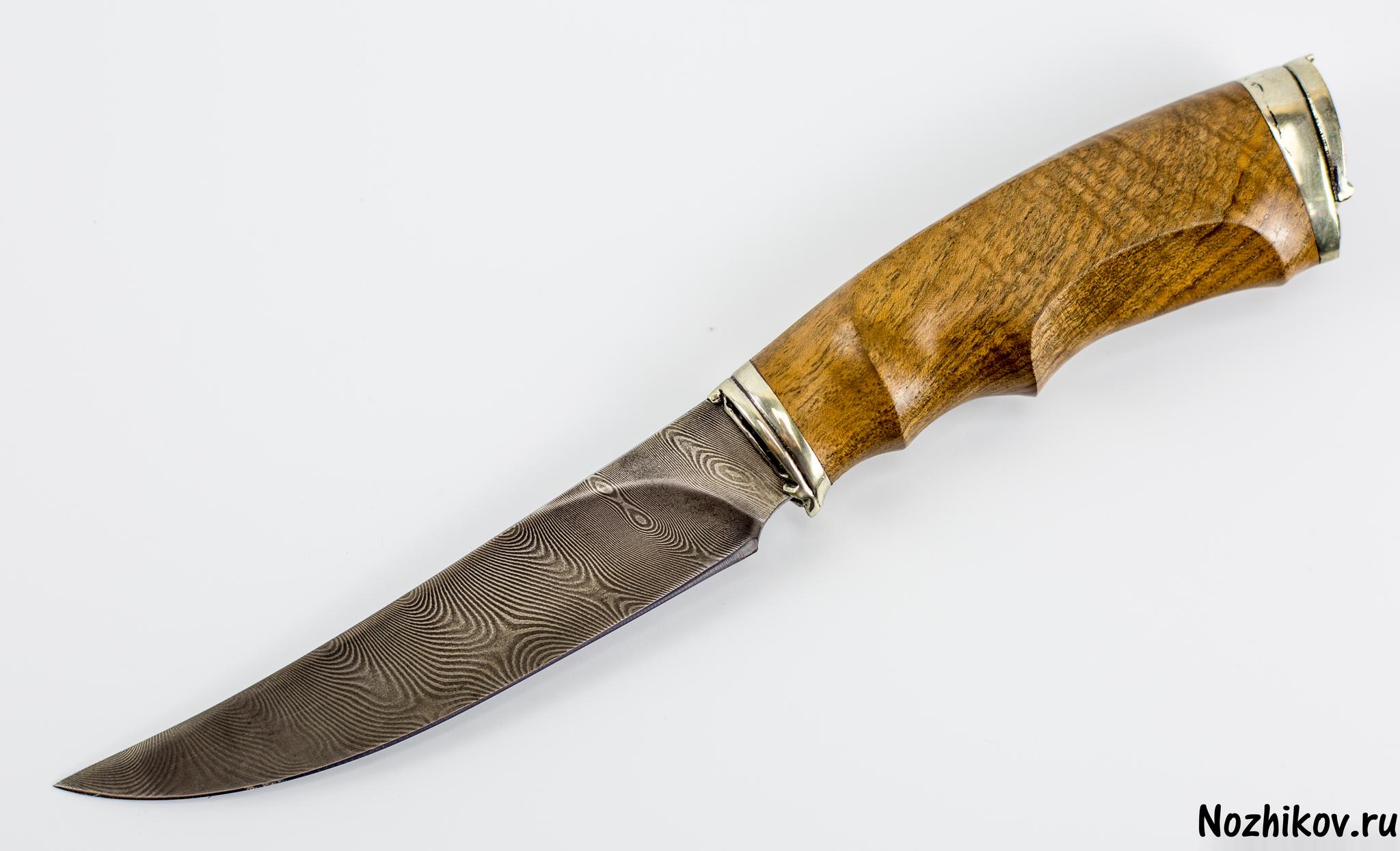 Авторский Нож из Дамаска №10, Кизляр
