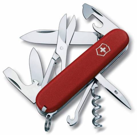 Нож перочинный Victorinox Ecoline 3.3703 91мм 14 функций матовый красный - Nozhikov.ru