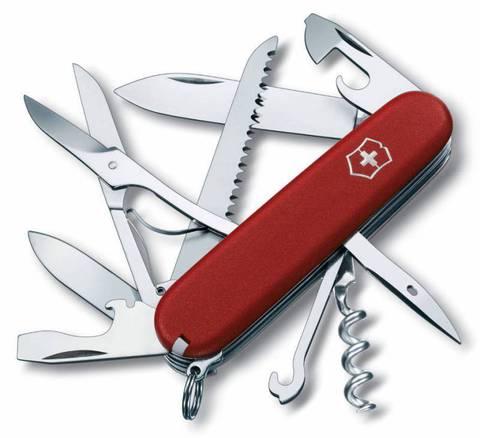 Нож перочинный Victorinox Ecoline 3.3713 91мм 15 функций матовый красный - Nozhikov.ru