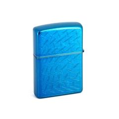 Зажигалка ZIPPO Classic с покрытием Cerulean™, латунь/сталь, синяя, глянец, 36x12x56 мм