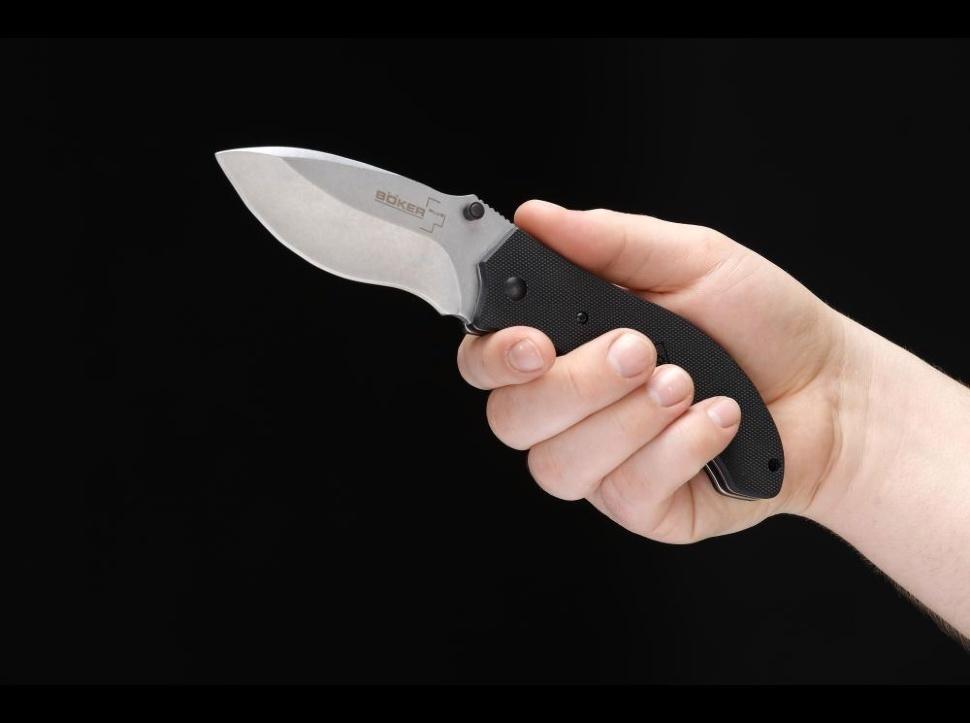 Фото 11 - Складной нож Gen 2 Resurrection - Boker Plus 01BO412, лезвие сталь 440C Stonewash, рукоять стеклотекстолит G-10