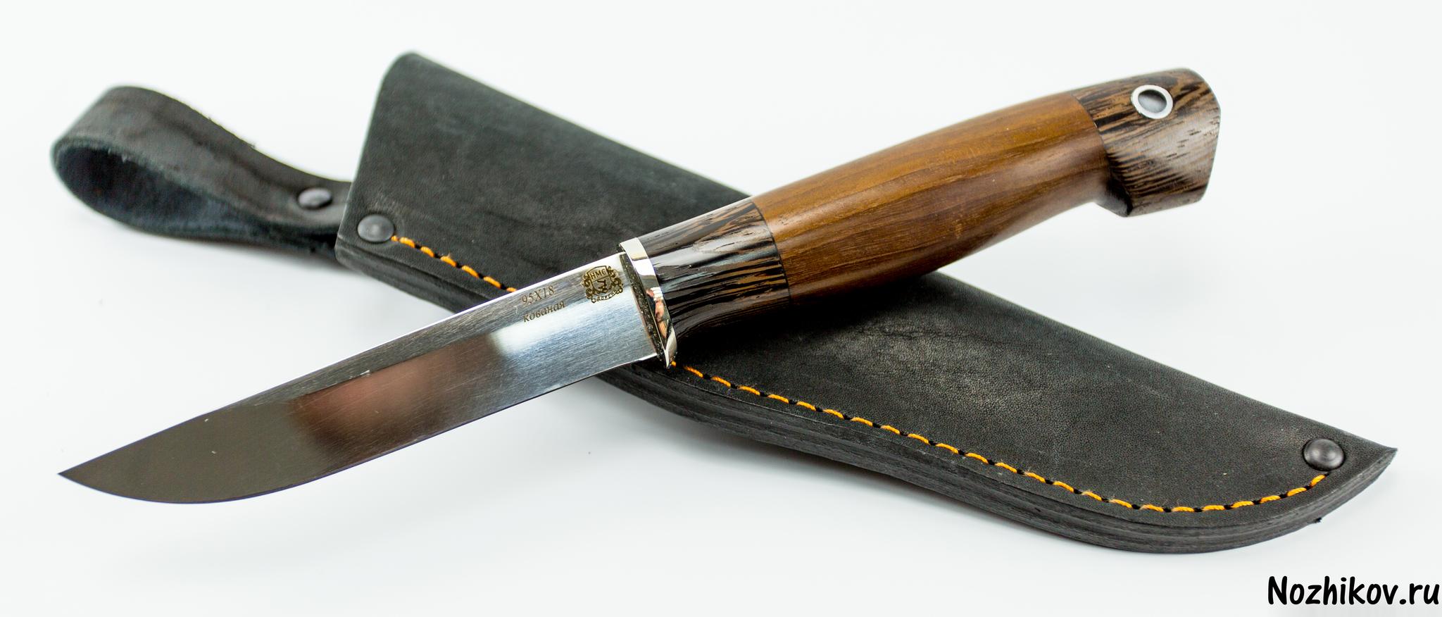 Фото 12 - Нож Финский, сталь 95Х18, рукоять орех от Мастерская Сковородихина