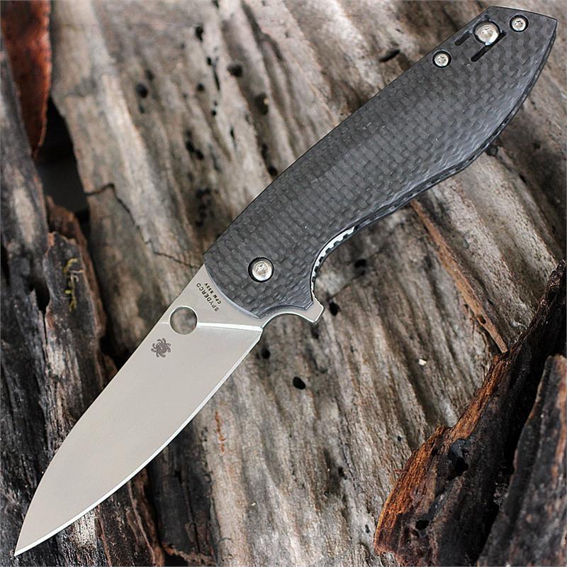 Фото 6 - Нож складной Spyderco Positron C195CFP, сталь CPM-S30V, рукоять карбон
