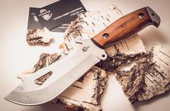 Нож для выживания «Воин», из нержавеющей стали 65х13