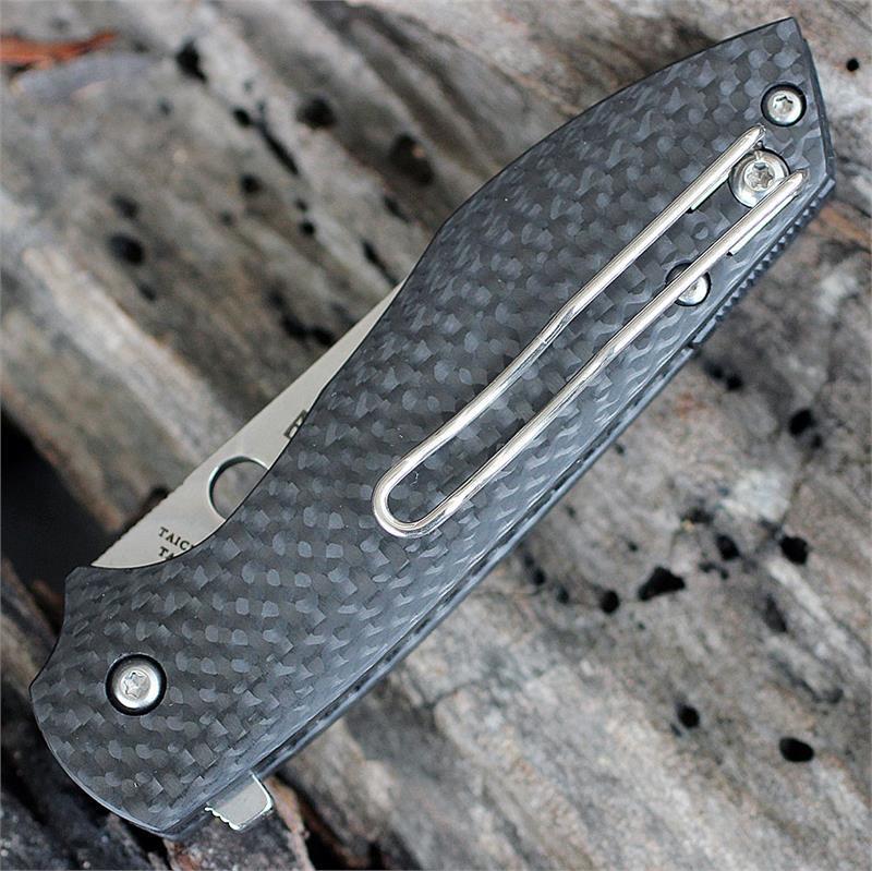 Фото 8 - Нож складной Spyderco Positron C195CFP, сталь CPM-S30V, рукоять карбон