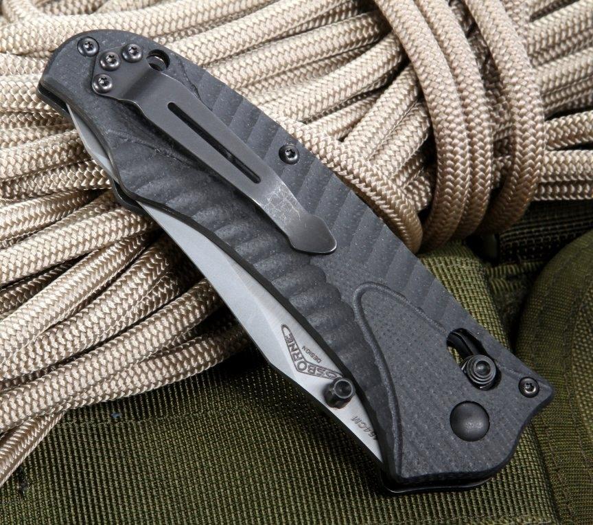 Фото 7 - Нож складной Benchmade Rift 950-1, сталь 154CM, рукоять G10