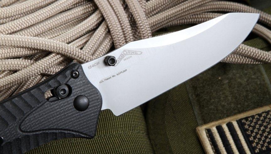 Фото 8 - Нож складной Benchmade Rift 950-1, сталь 154CM, рукоять G10