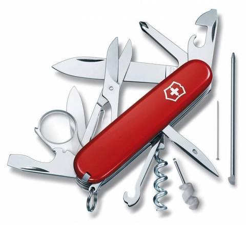 Нож перочинный Victorinox Explorer 1.6705 91мм 19 функций красный - Nozhikov.ru