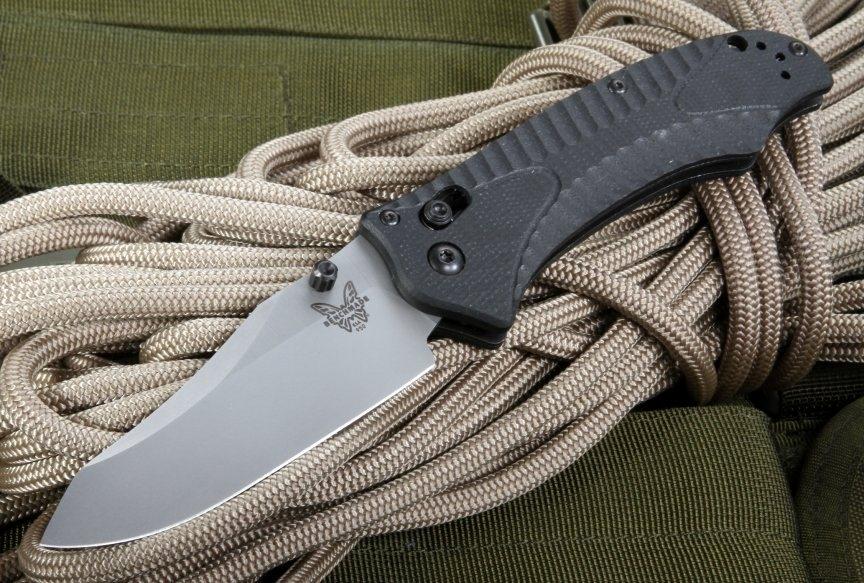 Фото 11 - Нож складной Benchmade Rift 950-1, сталь 154CM, рукоять G10