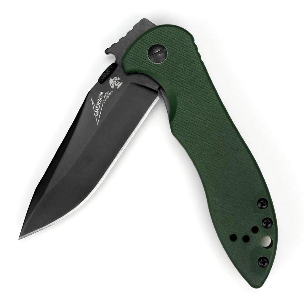 Фото 5 - Складной нож Kershaw Emerson CQC-5K K6074OLBLK, сталь 8Cr14MoV, рукоять G-10