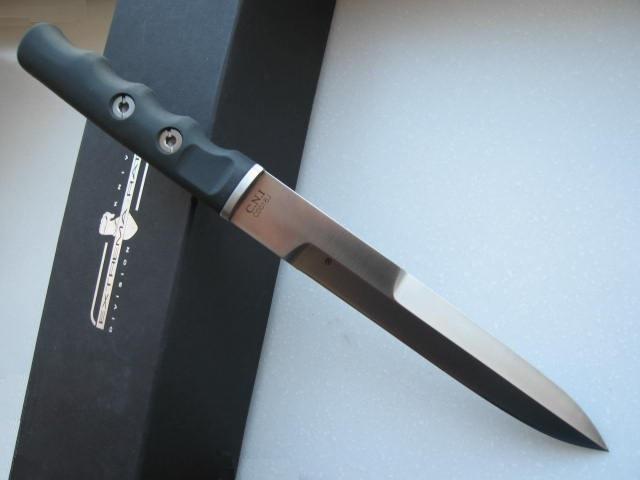 Фото 4 - Нож с фиксированным клинком Extrema Ratio C.N.1 Satin (Single Edge), сталь Bhler N690, рукоять пластик