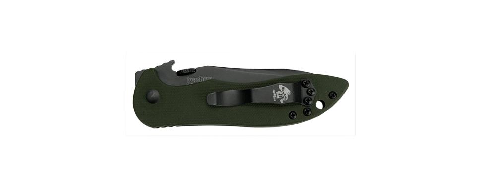 Фото 7 - Складной нож Kershaw Emerson CQC-5K K6074OLBLK, сталь 8Cr14MoV, рукоять G-10