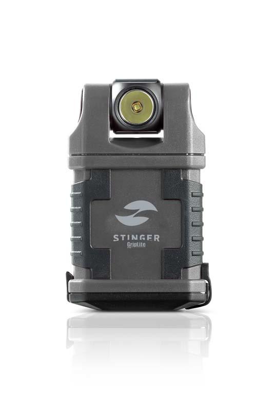Фонарь карманный светодиодный STINGER GripLite PCW-C4A1, 160 лм, 1250 кд, 45x25x83 мм фонарь светодиодный stinger x blaze atl2 c2l 640 лм 10450 кд 136x32 мм