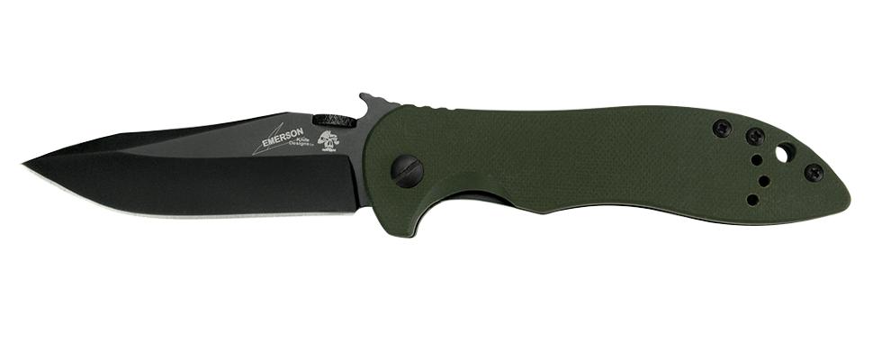 Фото 10 - Складной нож Kershaw Emerson CQC-5K K6074OLBLK, сталь 8Cr14MoV, рукоять G-10