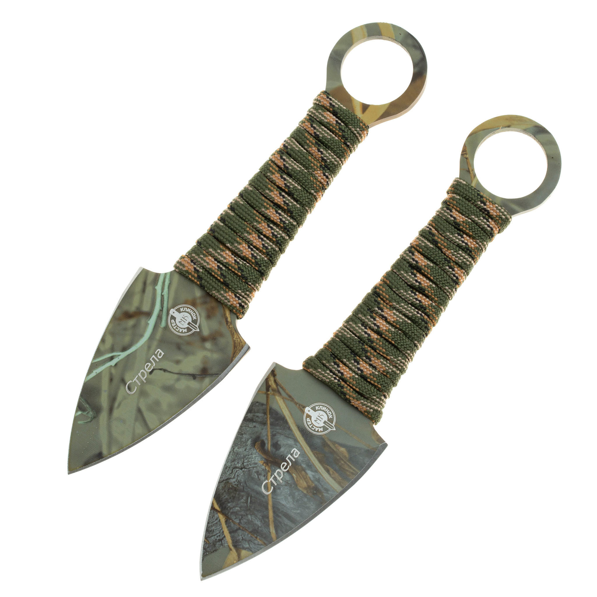 Набор из 2 метательных ножей Стрела