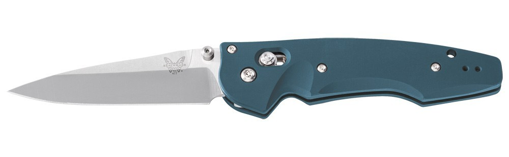Полуавтоматический нож Benchmade Emissary Aqua 477-1, сталь CPM-S30V, рукоять алюминий