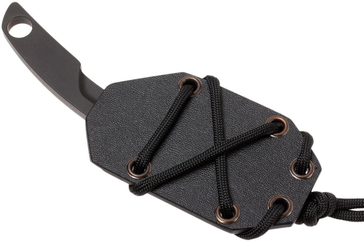Фото 7 - Нож с фиксированным клинком Extrema Ratio N.K.2 Black, сталь Bhler N690, цельнометаллический