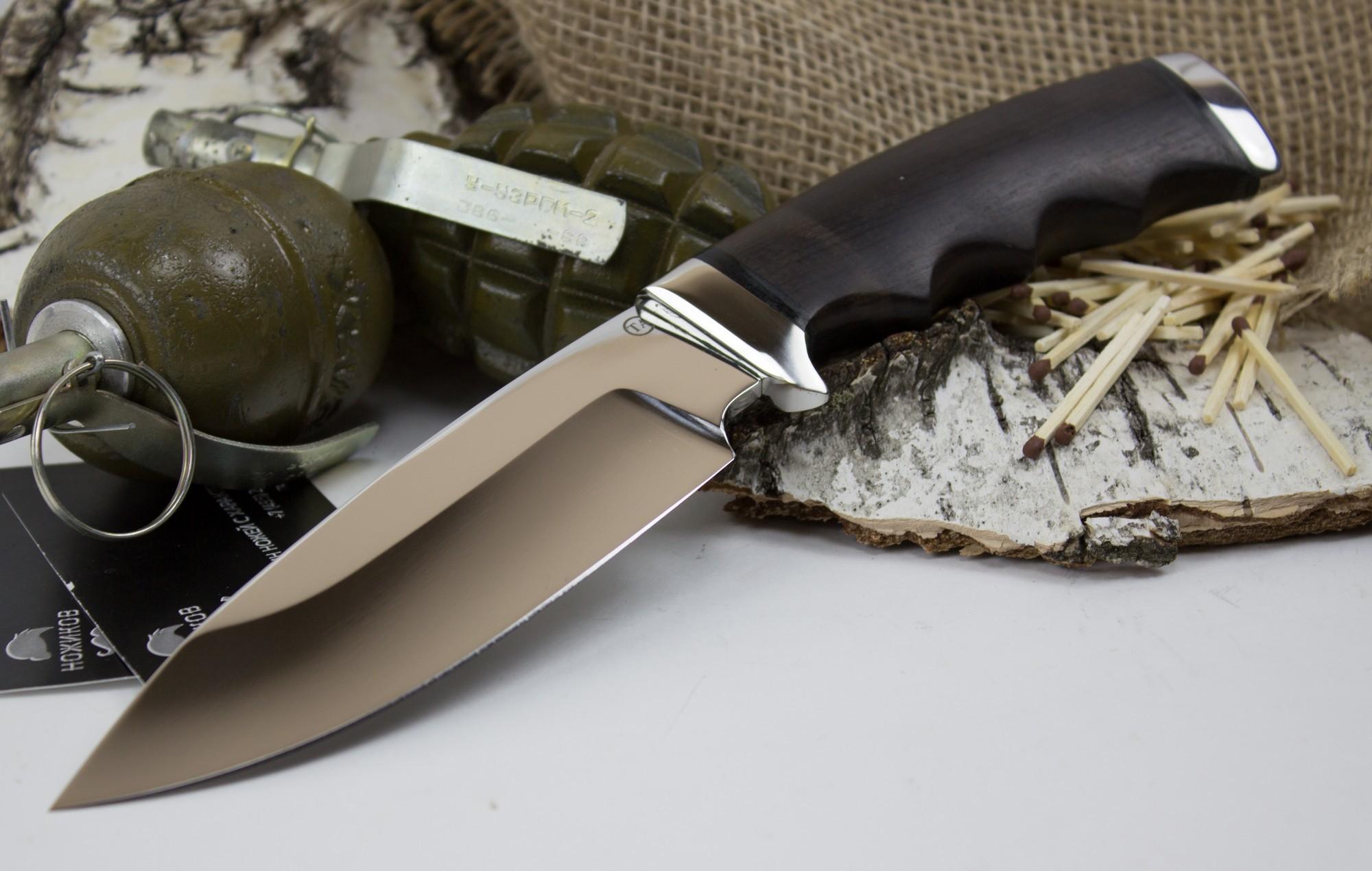 Фото 6 - Нож Барсук-1, сталь 95х18 от Титов и Солдатова