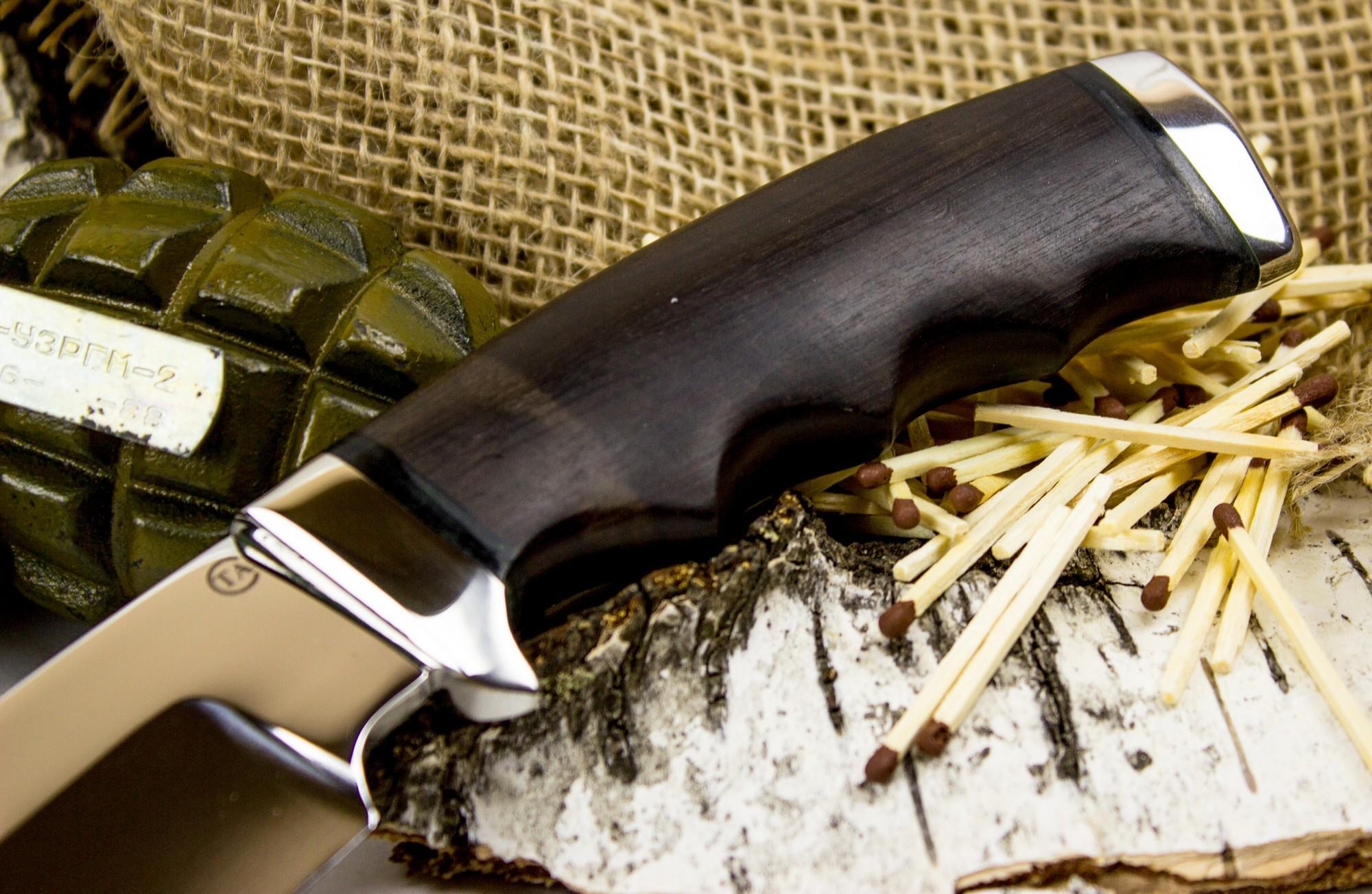 Фото 8 - Нож Барсук-1, сталь 95х18 от Титов и Солдатова
