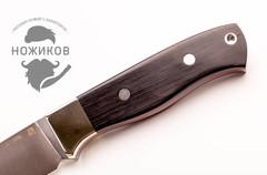 Нож цельнометаллический Перо 1, сталь M390, граб