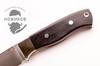 Нож цельнометаллический Перо 1, сталь M390, граб - Nozhikov.ru