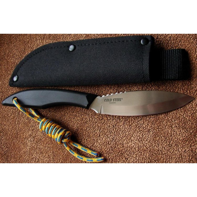 Фото 13 - Нож Cold Steel Canadian Belt 20CBL, сталь 4116, рукоять полипропилен