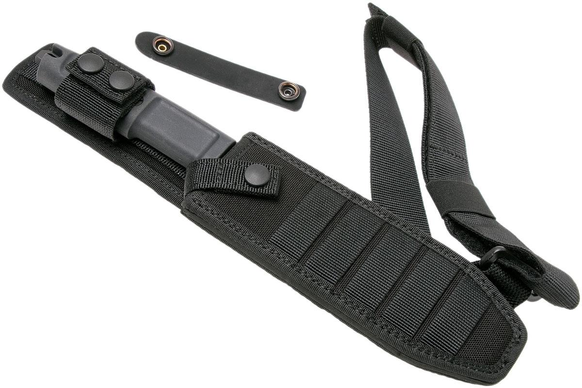 Фото 4 - Нож для выживания с фиксированным клинком Extrema Ratio Dobermann IV Tactical, сталь Bhler N690, рукоять Forprene