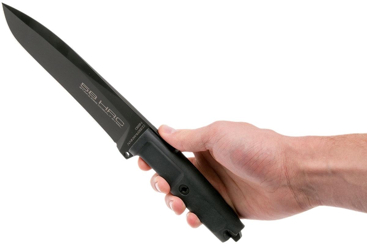 Фото 5 - Нож для выживания с фиксированным клинком Extrema Ratio Dobermann IV Tactical, сталь Bhler N690, рукоять Forprene