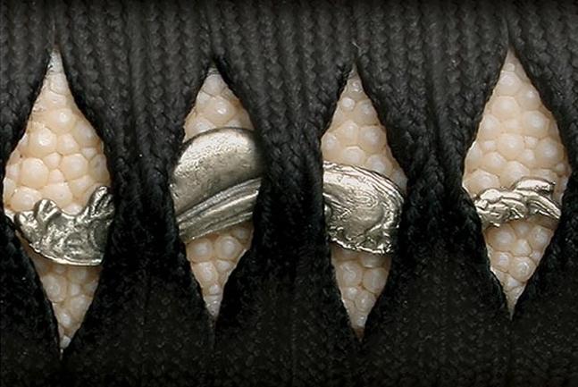 Фото 13 - Меч Wakizashi Cold Steel O Tanto (Emperor Series) 88T, сталь 1060 Carbon, рукоять кожа/намотка