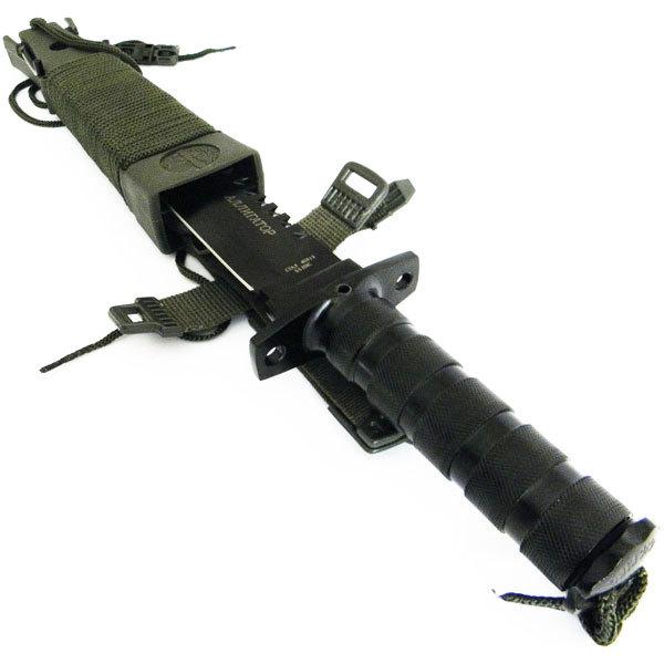 Фото 8 - Нож для выживания Аллигатор-2 НК5696 от Pirat