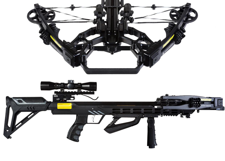 Арбалет блочный Ek Accelerator 410 Plus (Жнец 410) черный (c комплектом) от Ek Archery