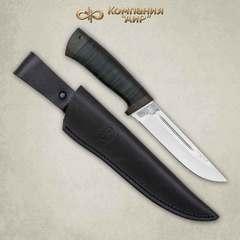 Нож Бекас кожа, сталь ЭП-766, фото 3