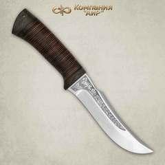 Нож Клык, кожа, сталь  Elmax, фото 5