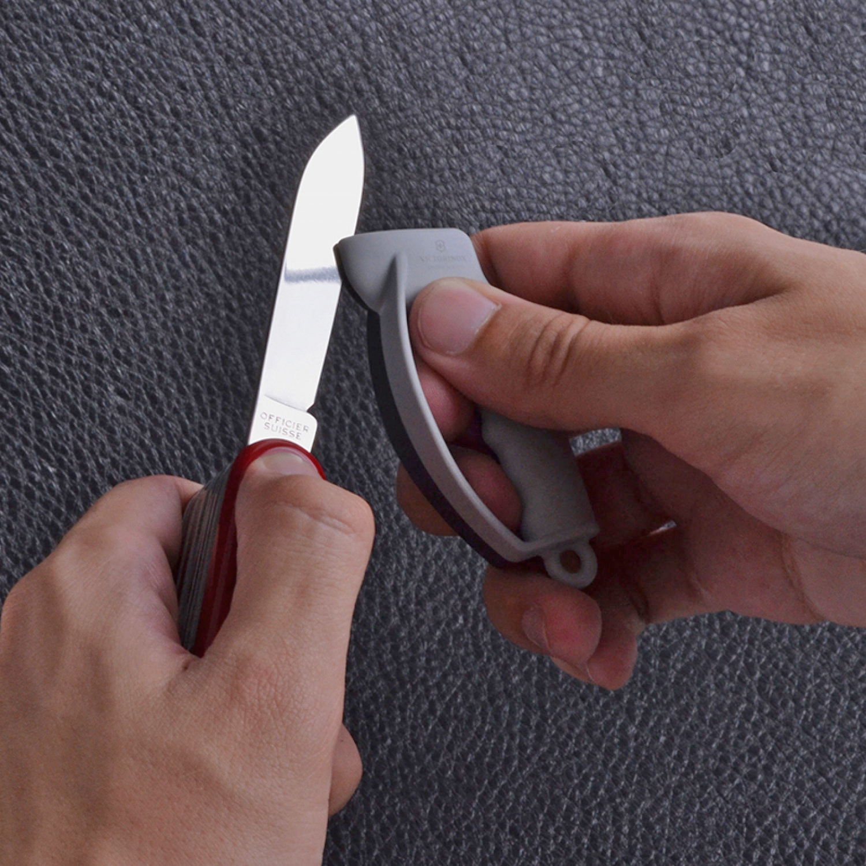 Фото 6 - Точилка для ножей Victorinox Sharpy карманная, серый