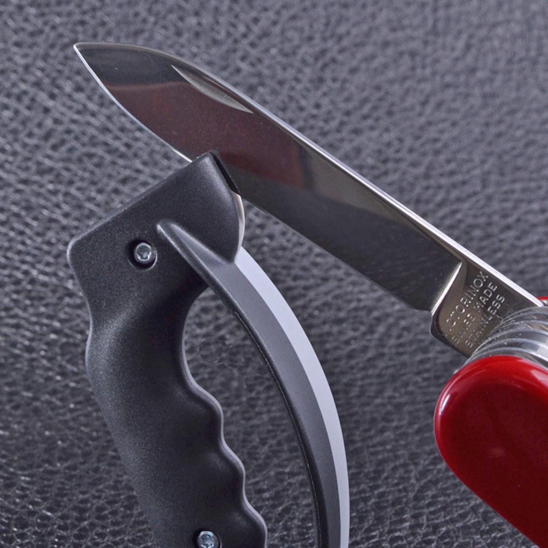 Фото 7 - Точилка для ножей Victorinox Sharpy карманная, серый