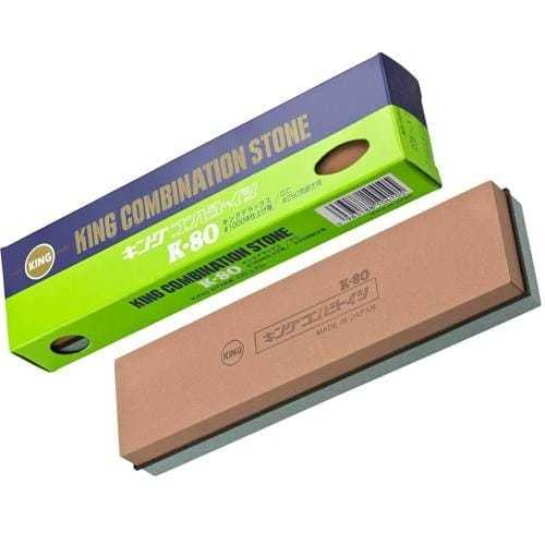 Комбинированный водный точильный камень для ножей King #250/#1000