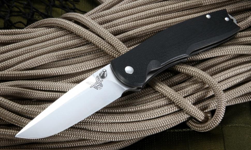 Фото 13 - Полуавтоматический нож Benchmade Torrent 890, сталь 154CM, рукоять G-10