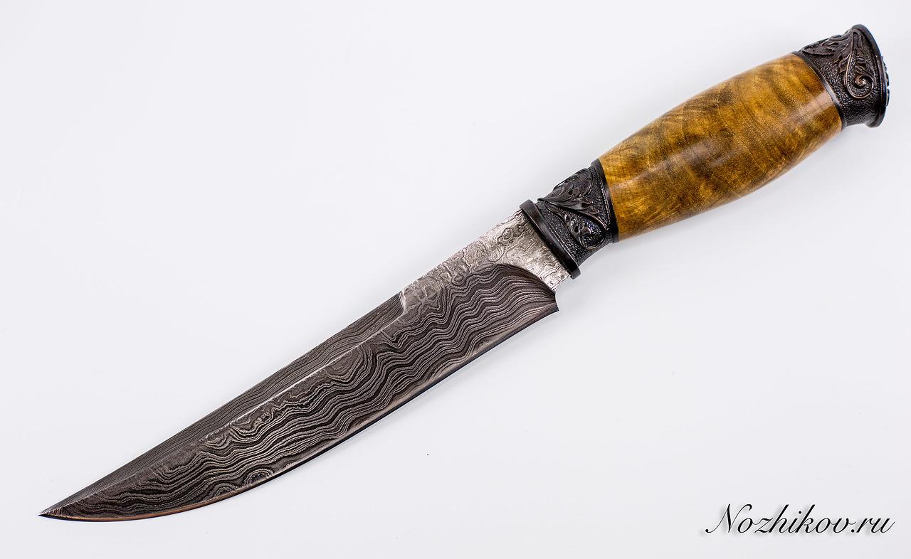 Фото 9 - Авторский Нож из Дамаска №43, Кизляр от Noname