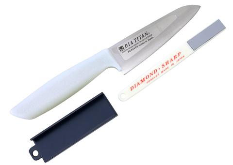 Набор Forever, (нож, точилка), Tojiro, TW13H-3S. Вид 1