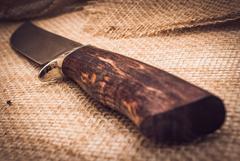 Нож Лесник, карельская береза, сталь ELMAX, фото 4