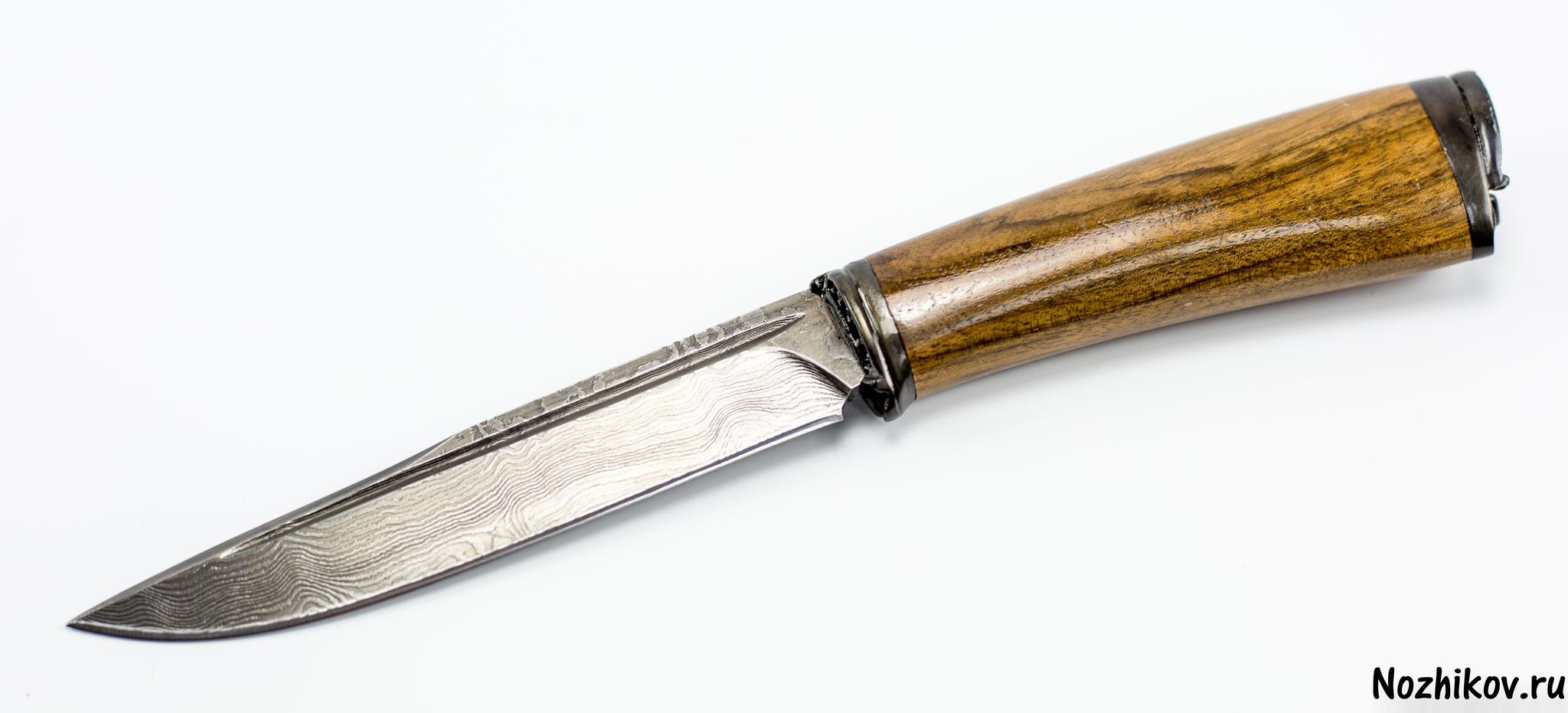 Авторский Нож из Дамаска №11, Кизляр