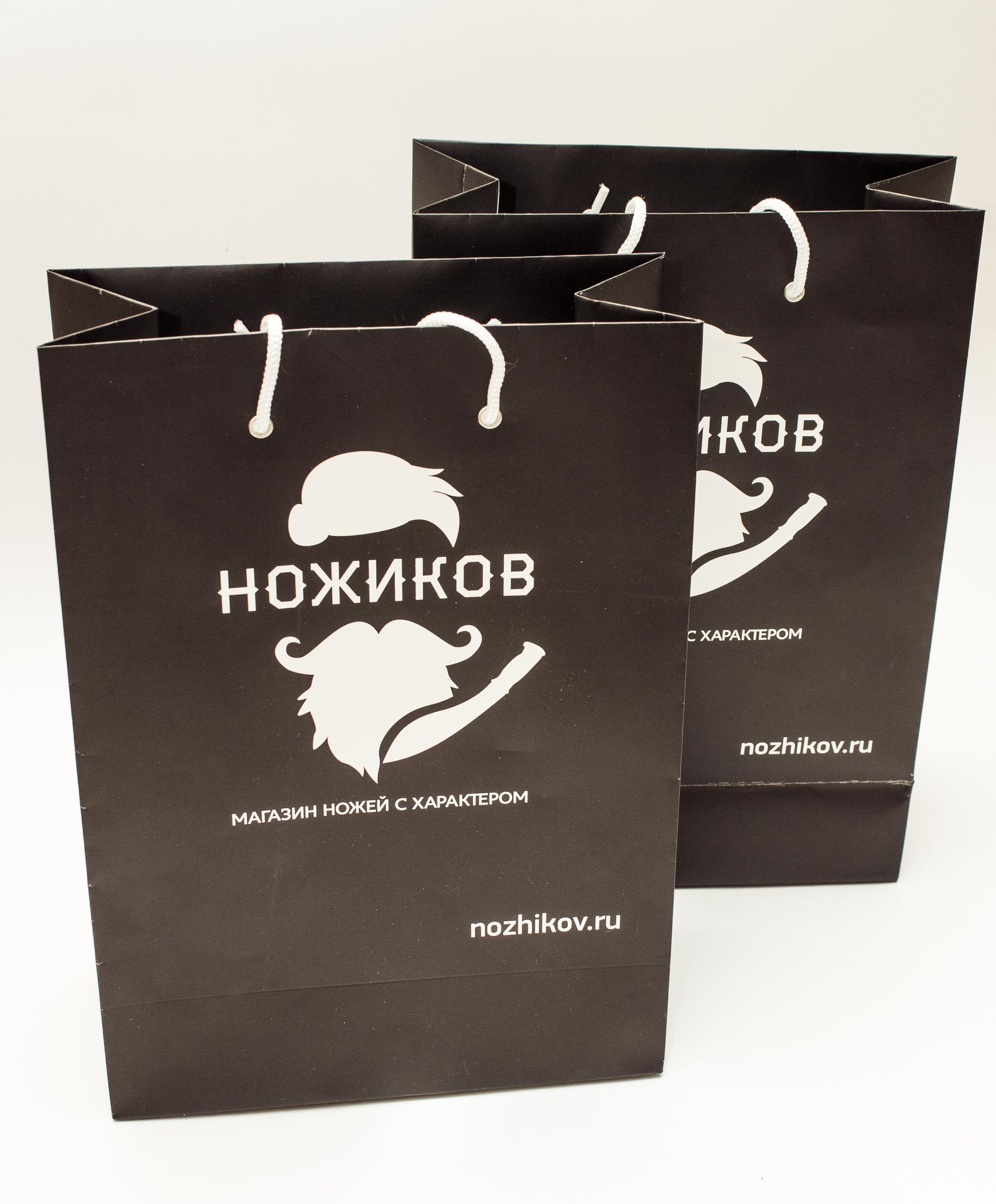 Подарочный пакет от Nozhikov